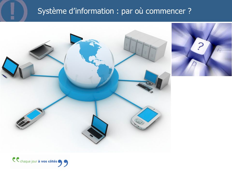 Système d'information : par où commencer