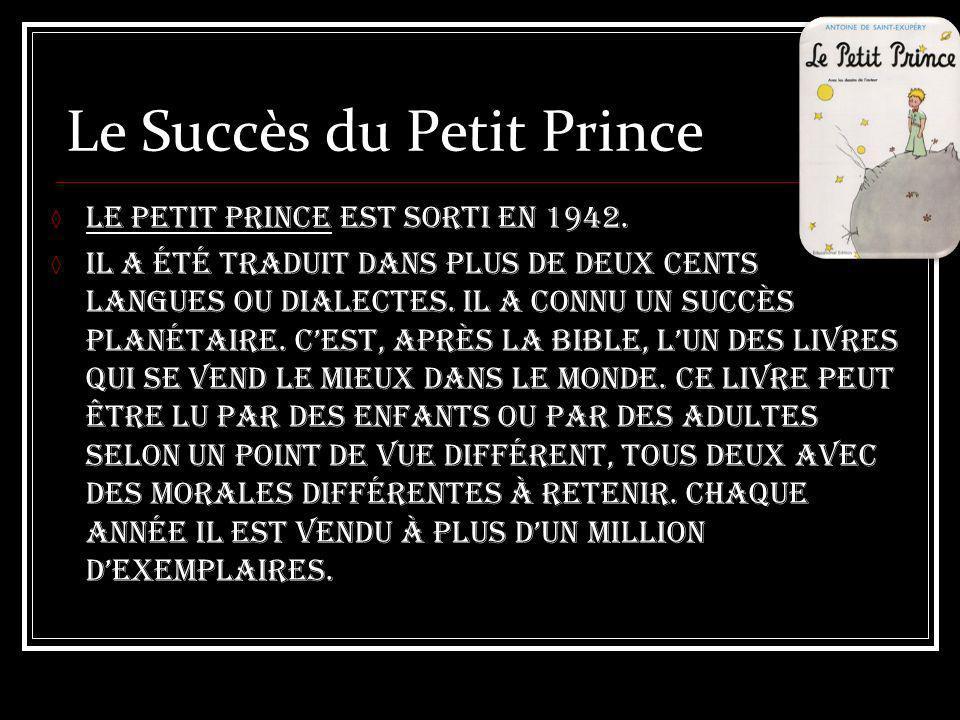 Le Succès du Petit Prince