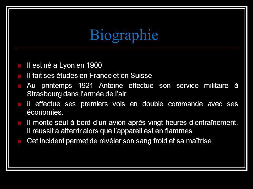Biographie Il est né a Lyon en 1900