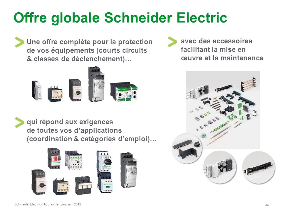 Offre globale Schneider Electric