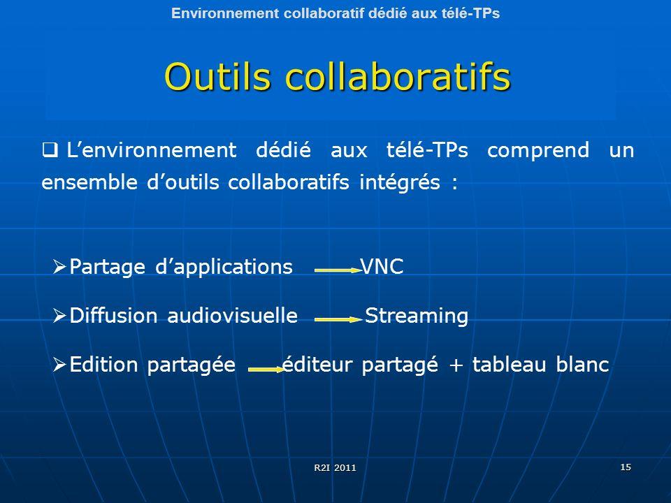 Environnement collaboratif dédié aux télé-TPs