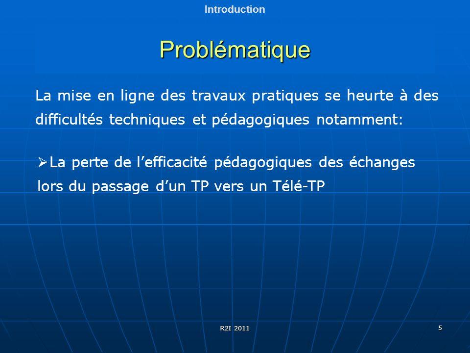 UMMTO Introduction. Problématique. La mise en ligne des travaux pratiques se heurte à des difficultés techniques et pédagogiques notamment: