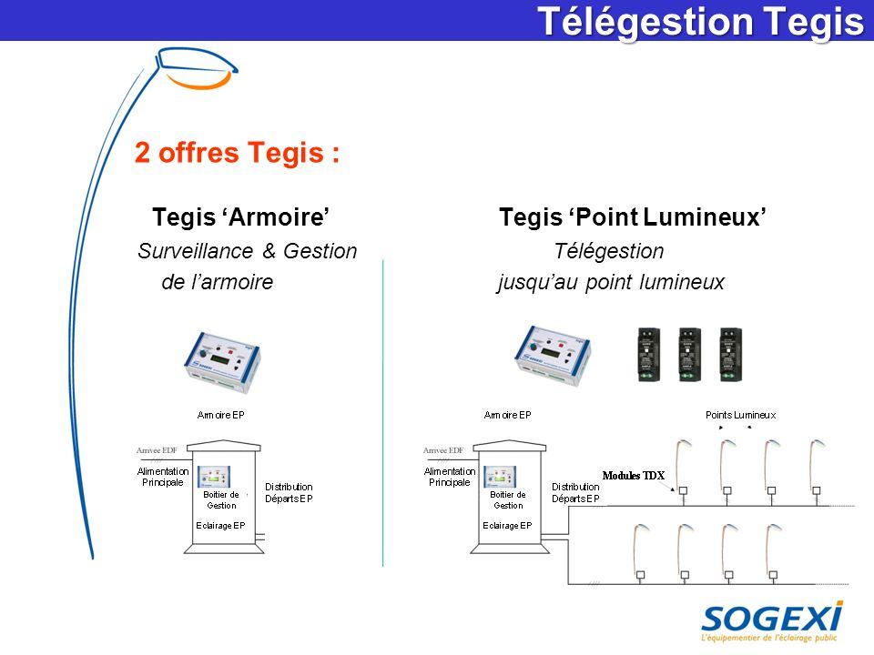 Télégestion Tegis 2 offres Tegis : Surveillance & Gestion Télégestion