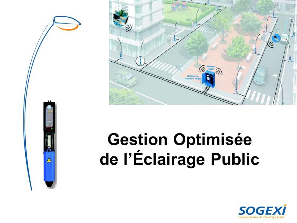 Gestion Optimisée de l'Éclairage Public