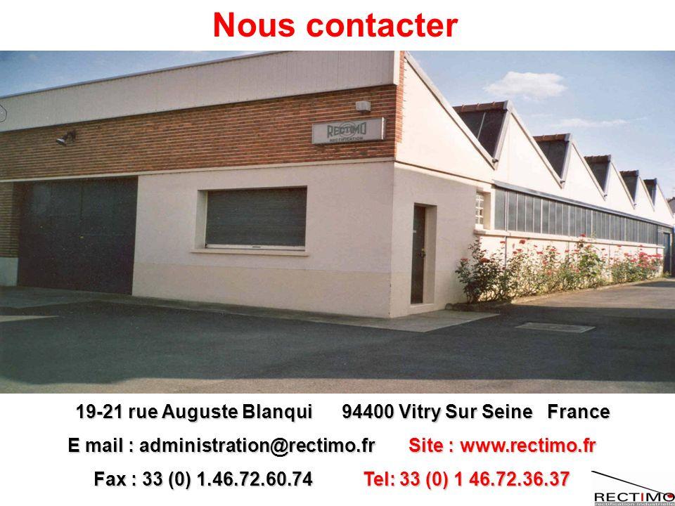 Nous contacter 19-21 rue Auguste Blanqui 94400 Vitry Sur Seine France