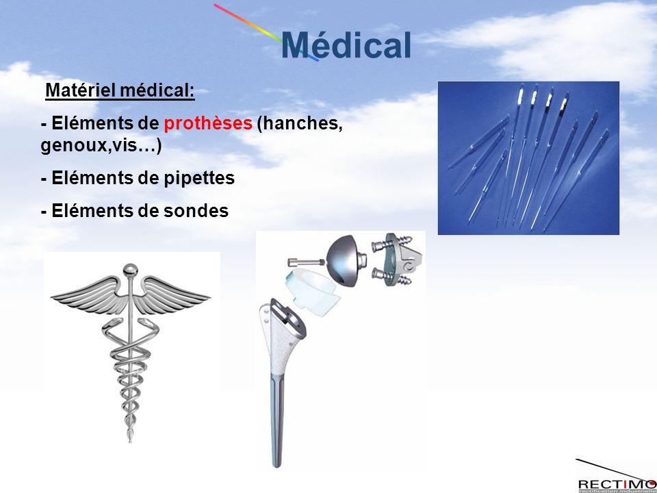 Médical Matériel médical: