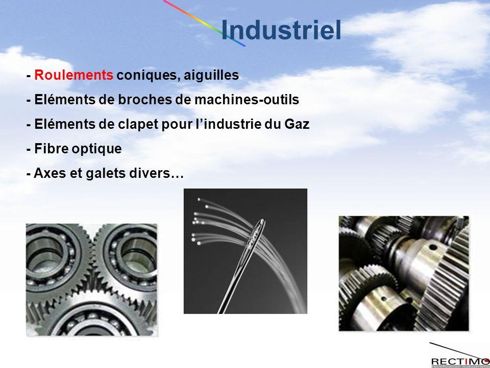 Industriel - Roulements coniques, aiguilles