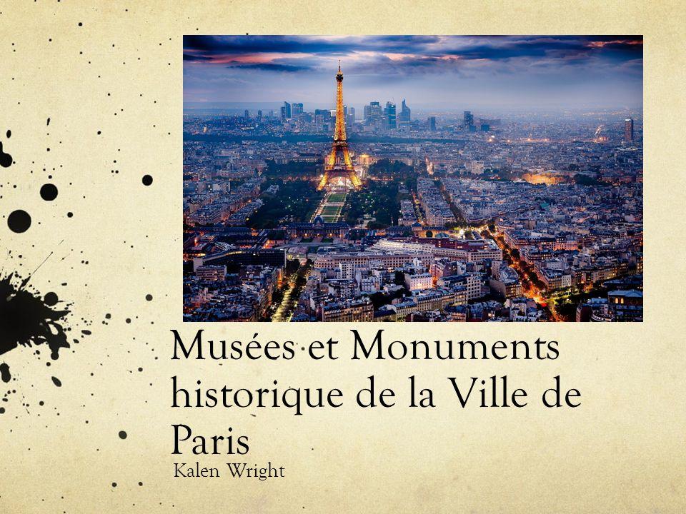 Musées et Monuments historique de la Ville de Paris