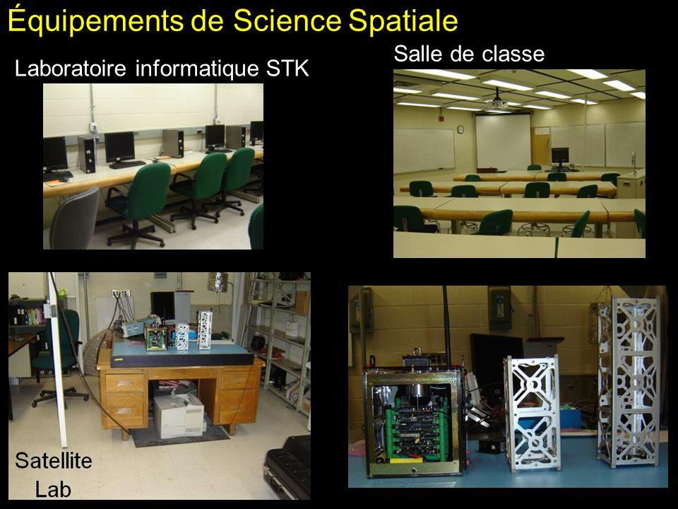 Équipements de Science Spatiale