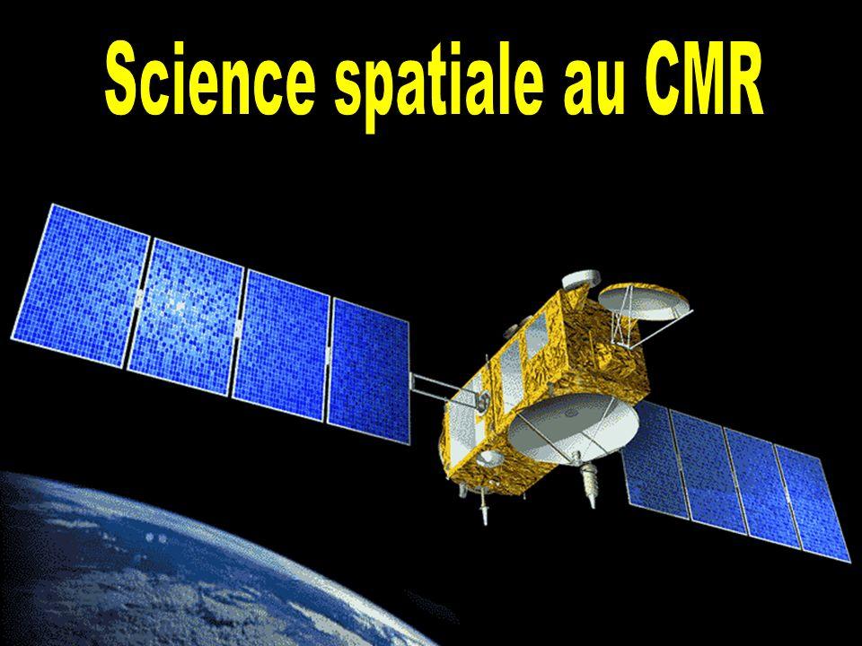 Science spatiale au CMR