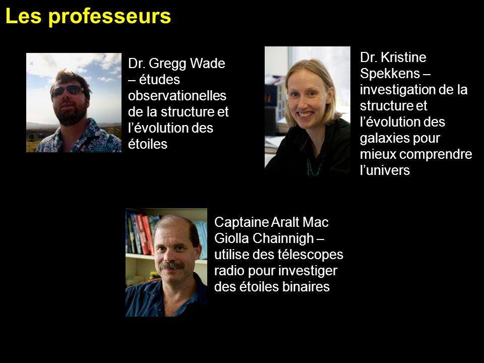 PHE 354 Course Outline Les professeurs. ACORD 08 Mar 2011.