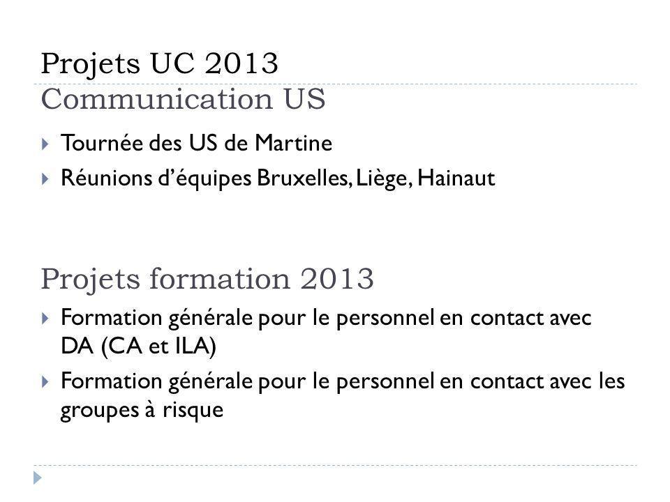 Projets UC 2013 Communication US