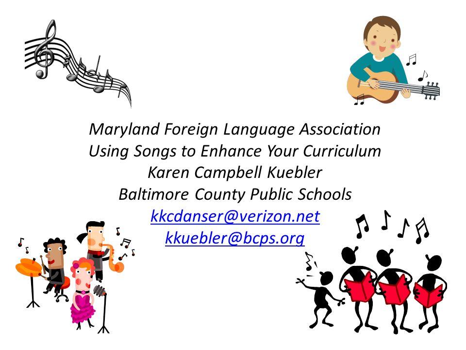 Karen Campbell Kuebler Baltimore County Public Schools