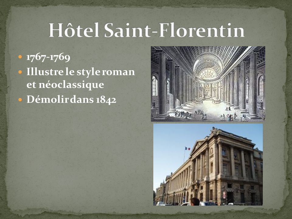 Hôtel Saint-Florentin