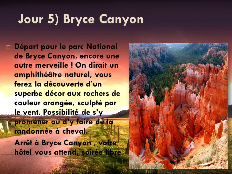 Jour 5) Bryce Canyon