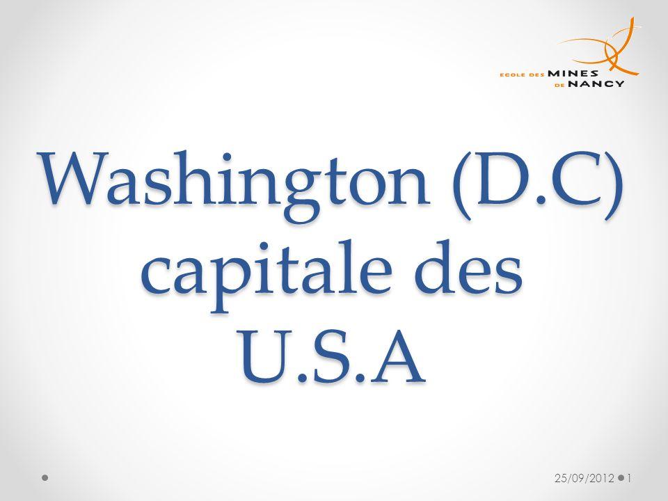 Washington (D.C) capitale des U.S.A