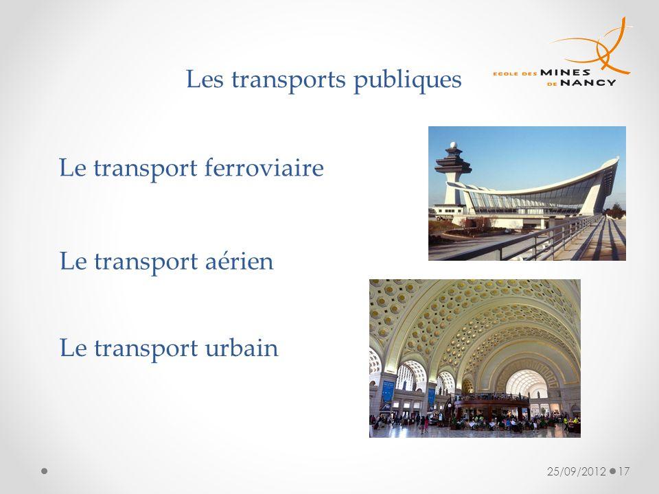 Les transports publiques