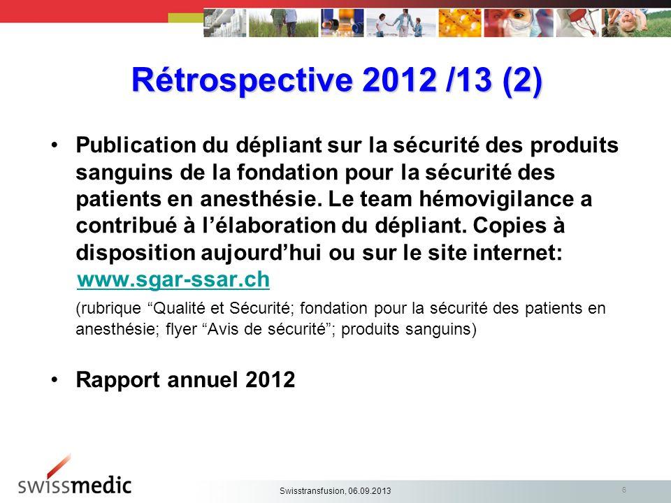 Rétrospective 2012 /13 (2)