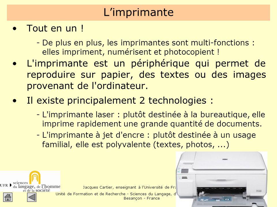 L'imprimante Tout en un !