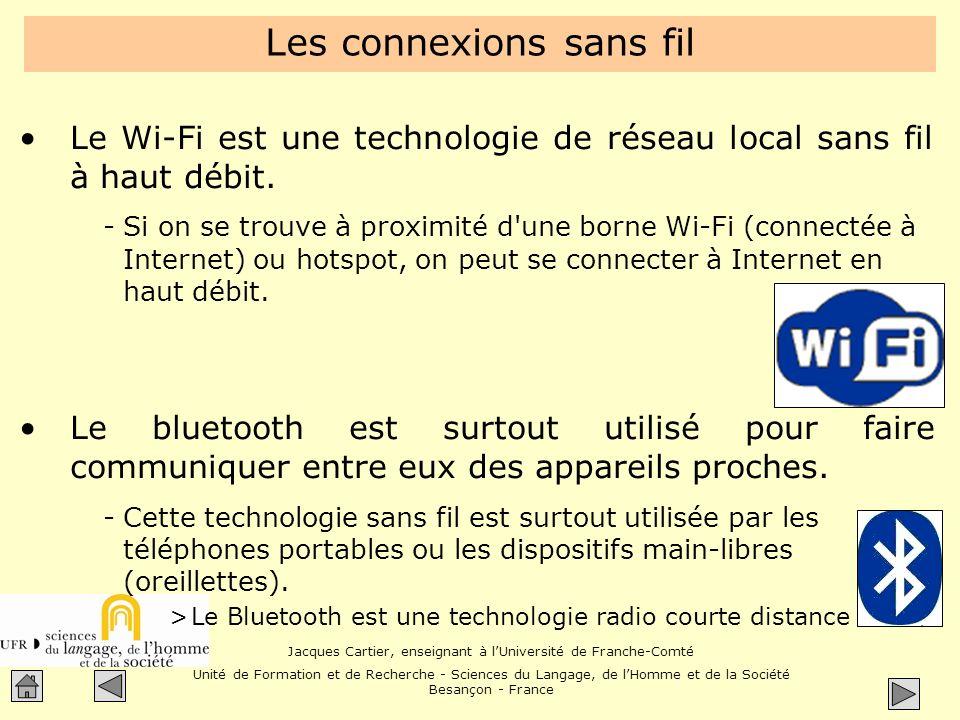 Les connexions sans fil
