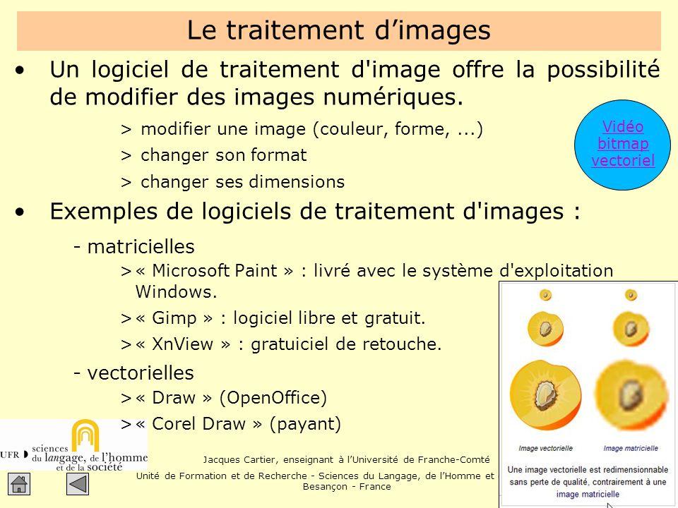 Le traitement d'images