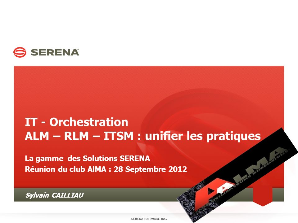 IT - Orchestration ALM – RLM – ITSM : unifier les pratiques