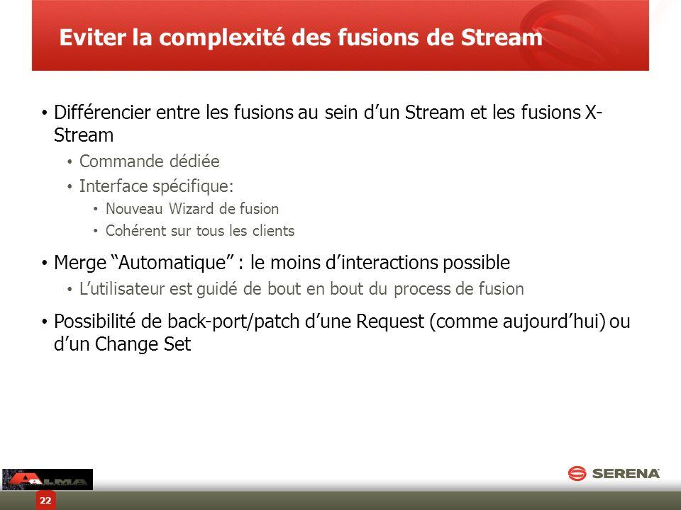 Eviter la complexité des fusions de Stream
