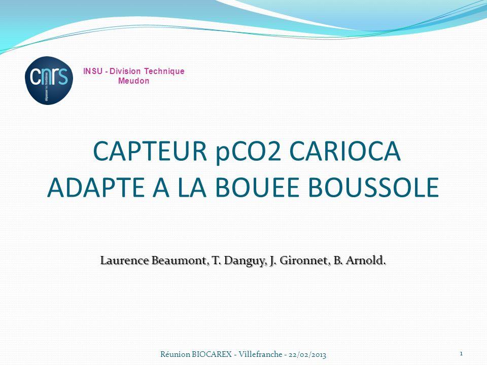 CAPTEUR pCO2 CARIOCA ADAPTE A LA BOUEE BOUSSOLE