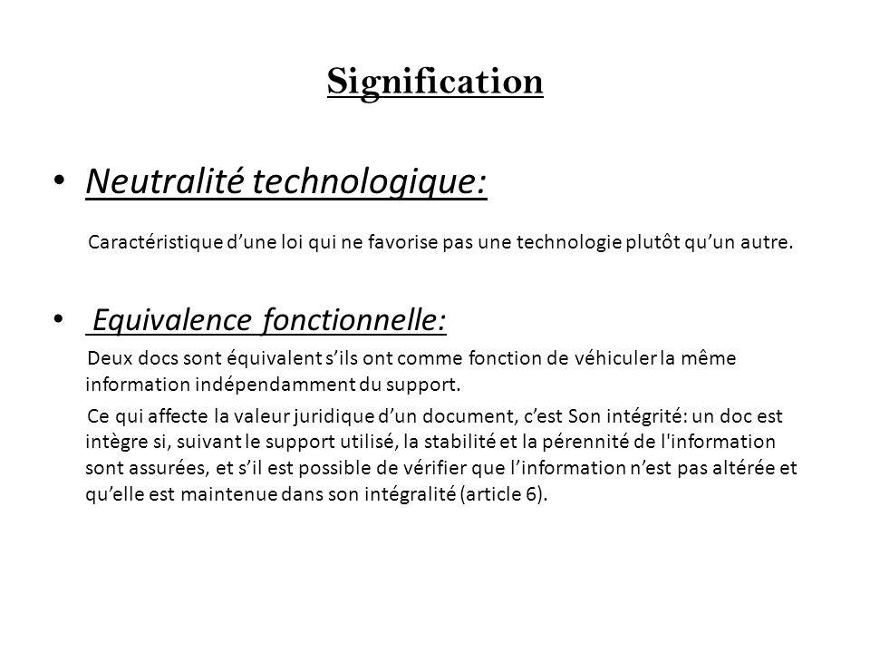 Neutralité technologique: