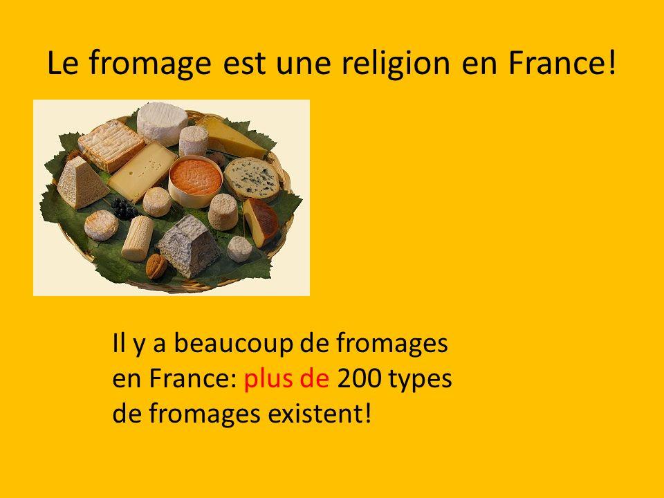 Le fromage est une religion en France!