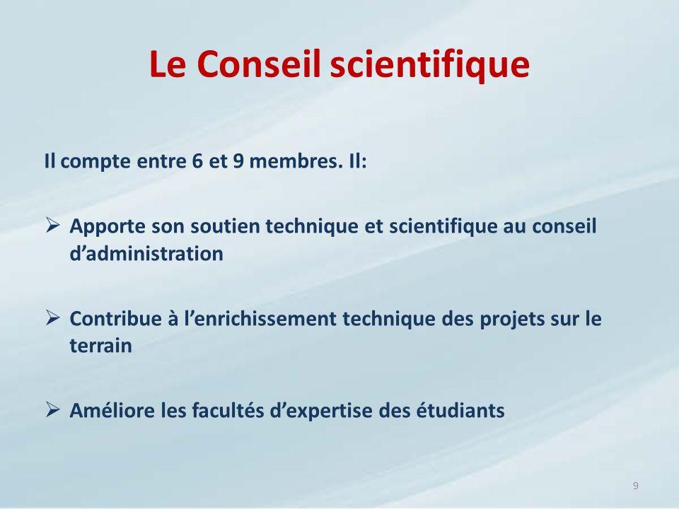 Le Conseil scientifique