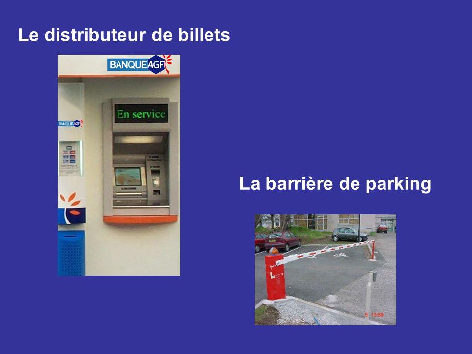 Le distributeur de billets