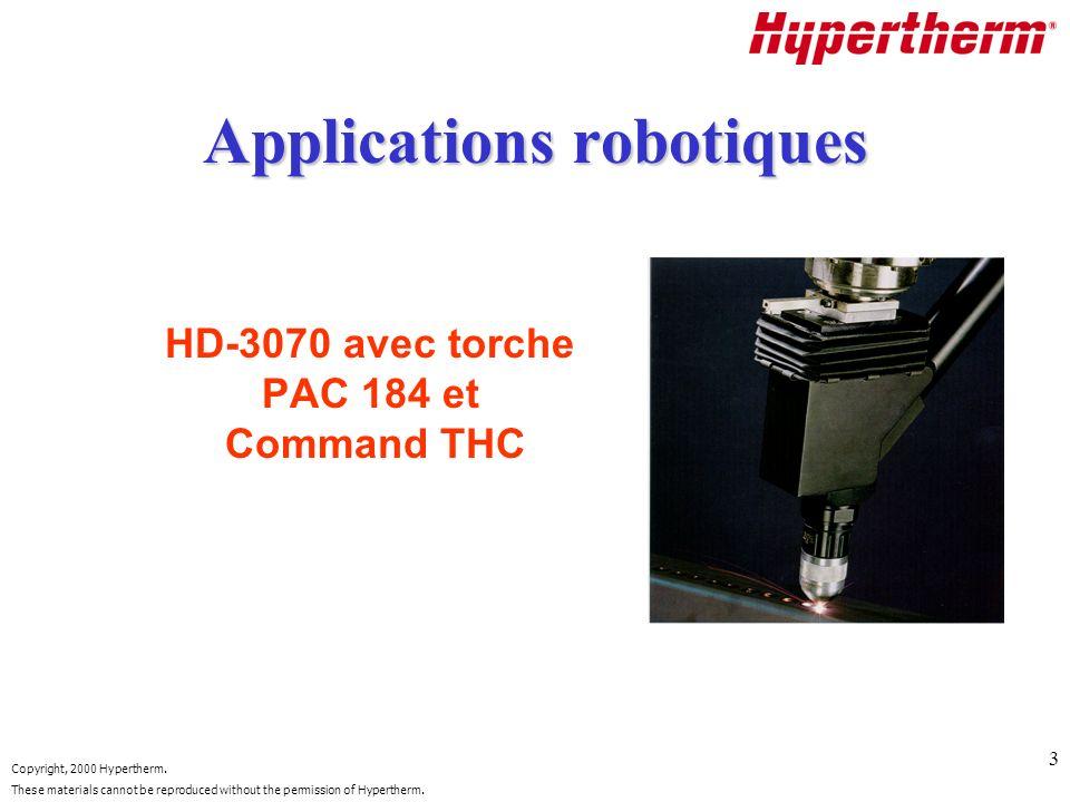 Applications robotiques