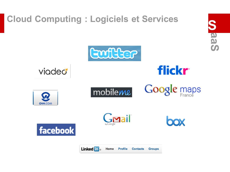 Cloud Computing : Logiciels et Services