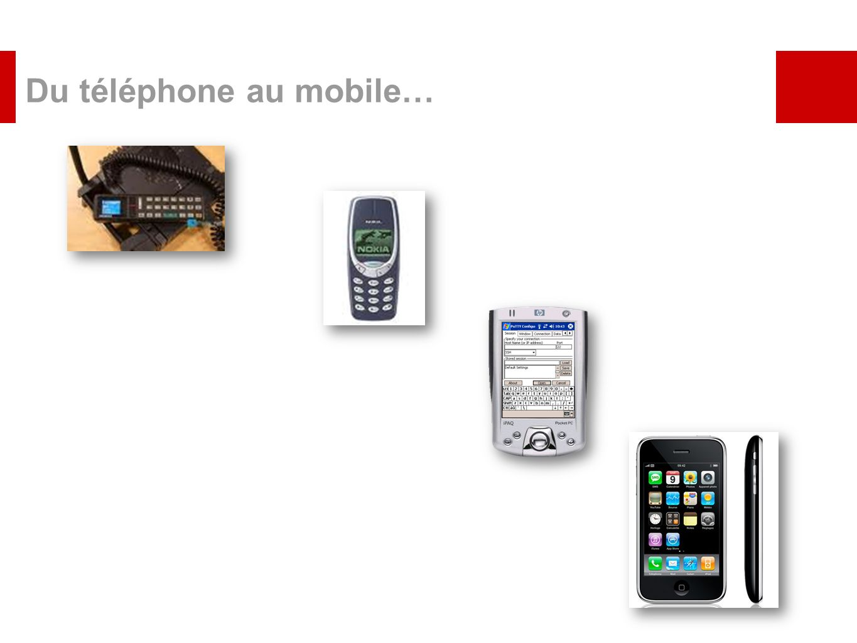 Du téléphone au mobile…