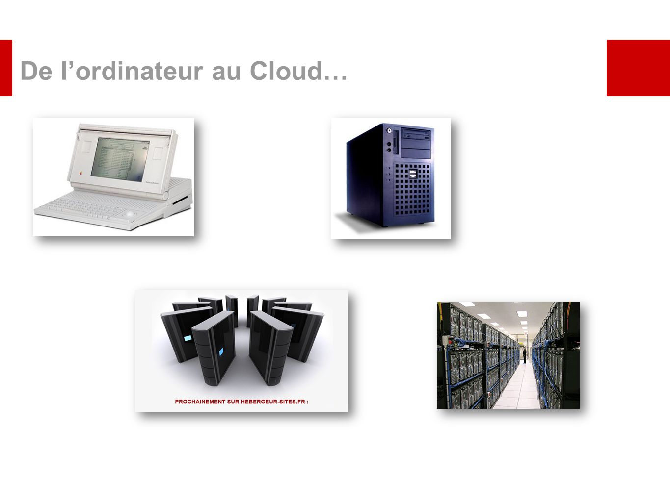 De l'ordinateur au Cloud…