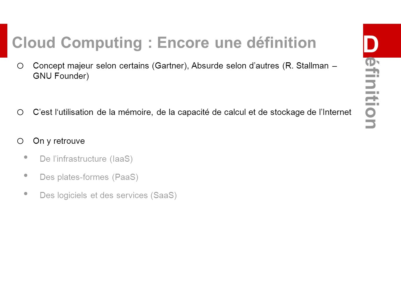Cloud Computing : Encore une définition