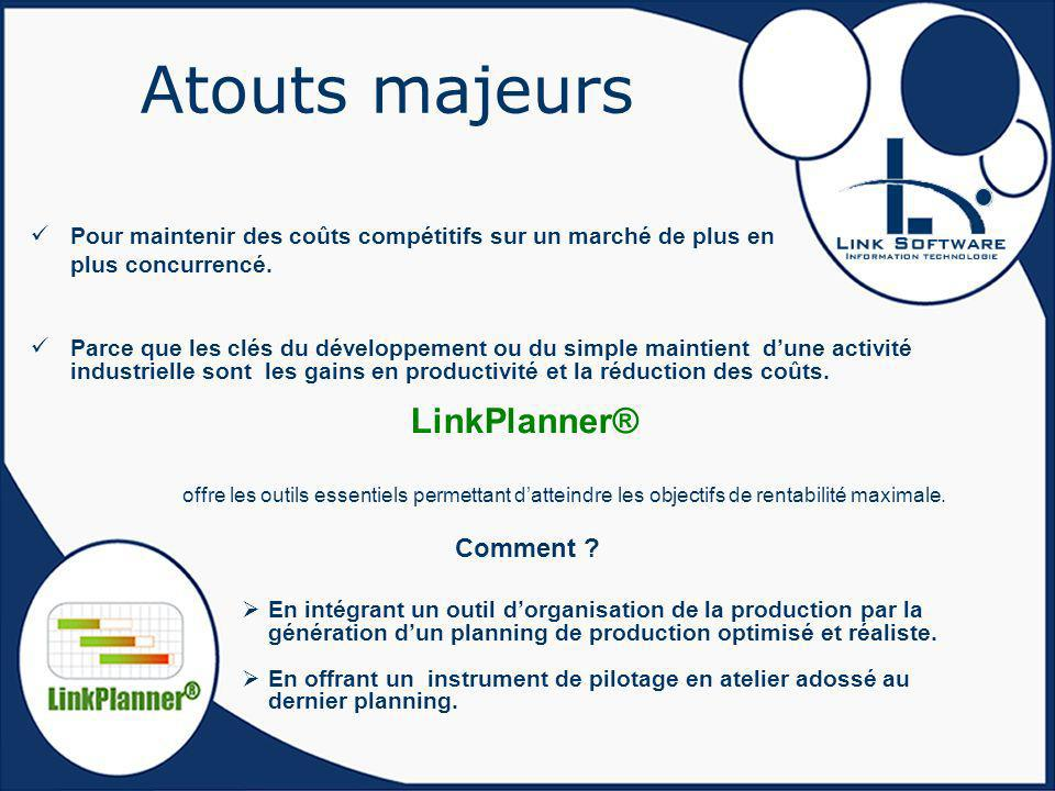Atouts majeurs LinkPlanner® Comment