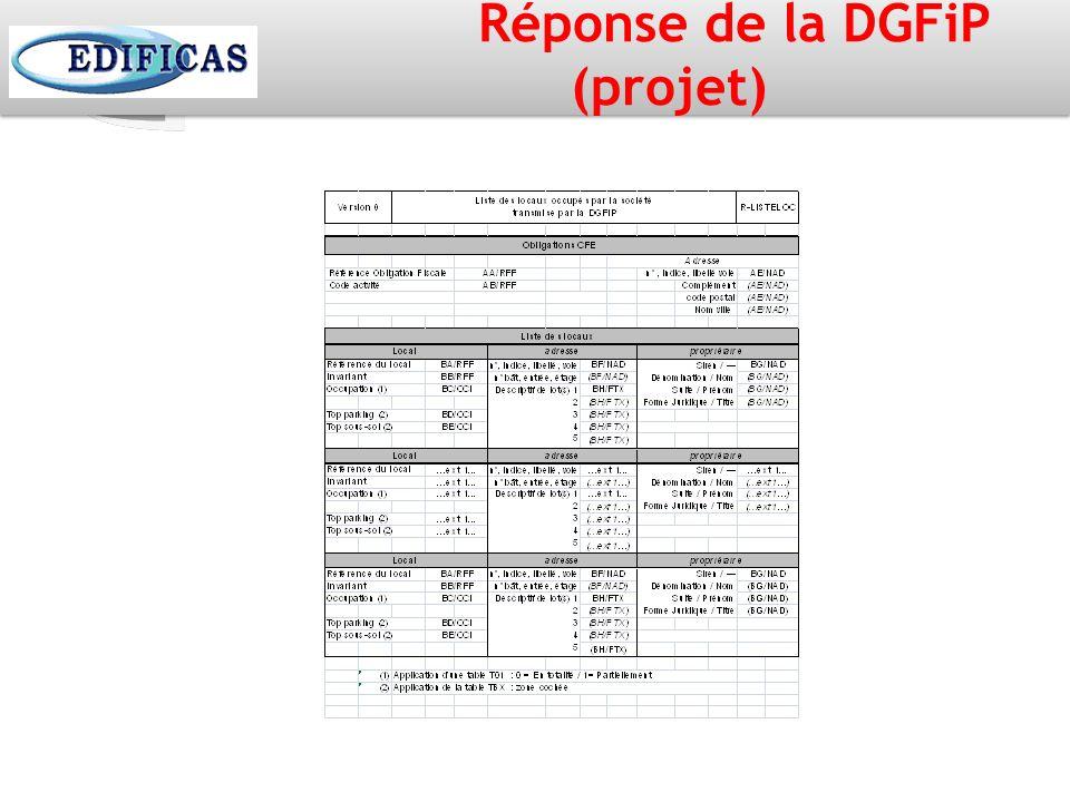 Réponse de la DGFiP (projet)