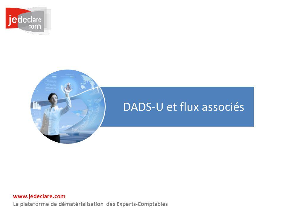 DADS-U et flux associés