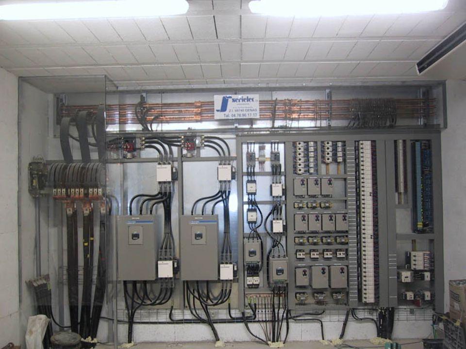 Autres clients : Conception d'armoire électrique contenant parfois une partie d'automatisme.