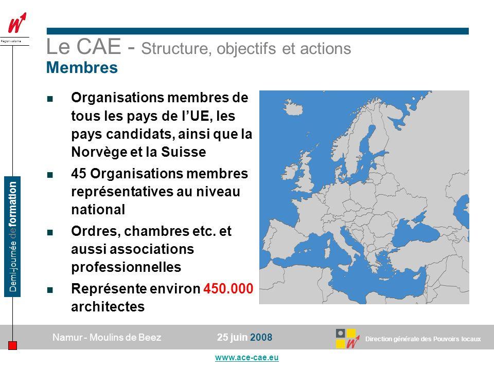 Le CAE - Structure, objectifs et actions