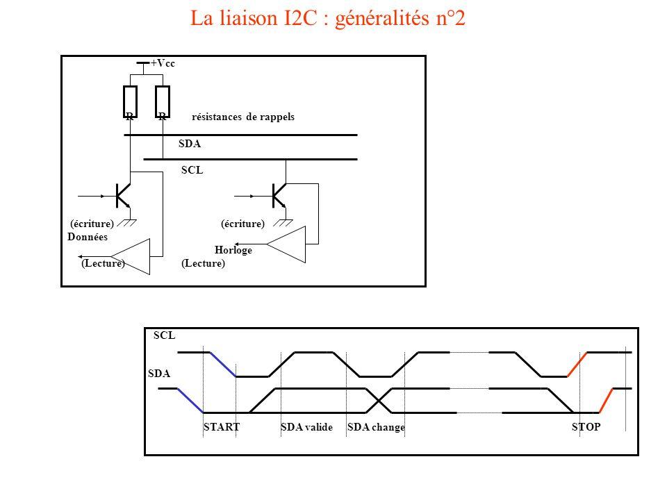 La liaison I2C : généralités n°2