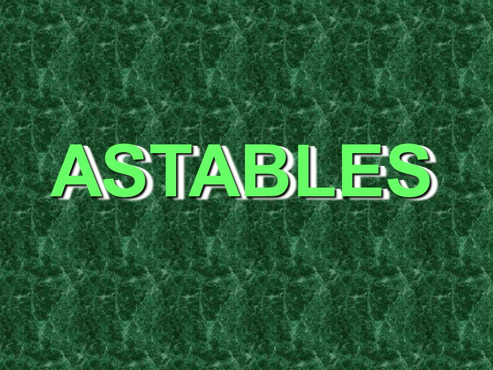 ASTABLES