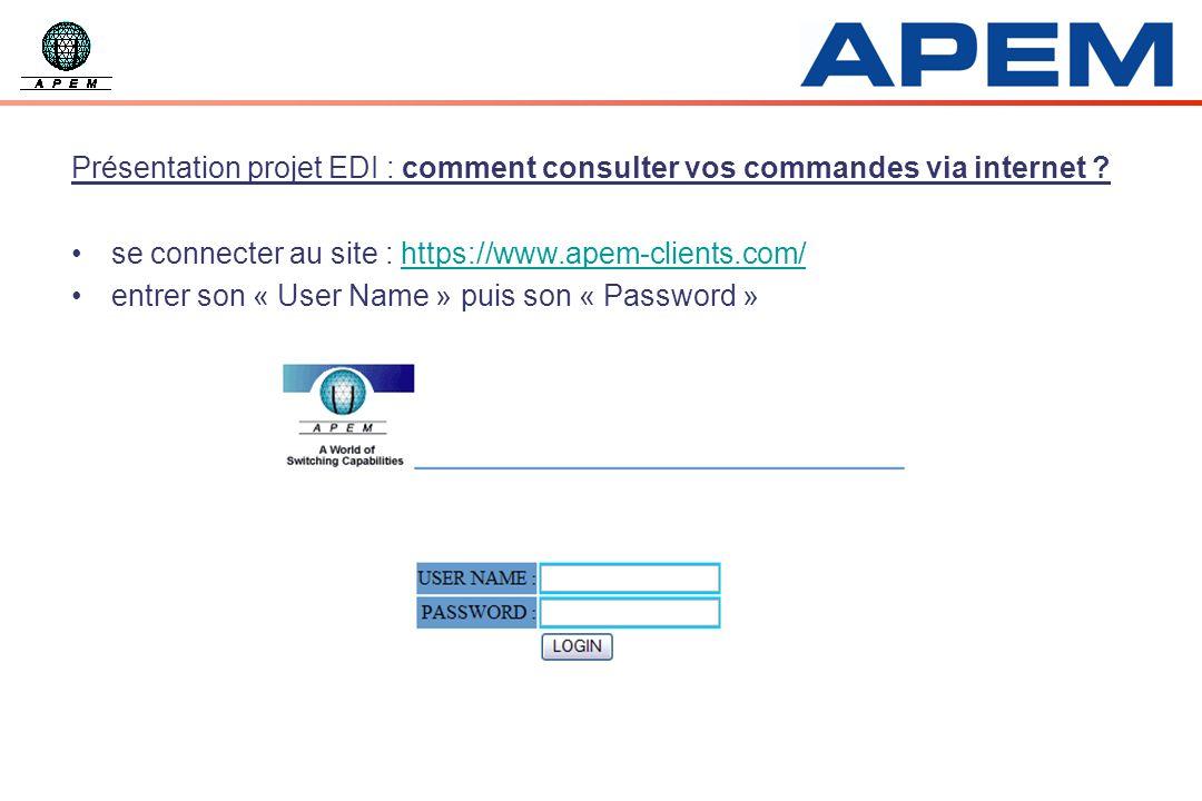 se connecter au site : https://www.apem-clients.com/