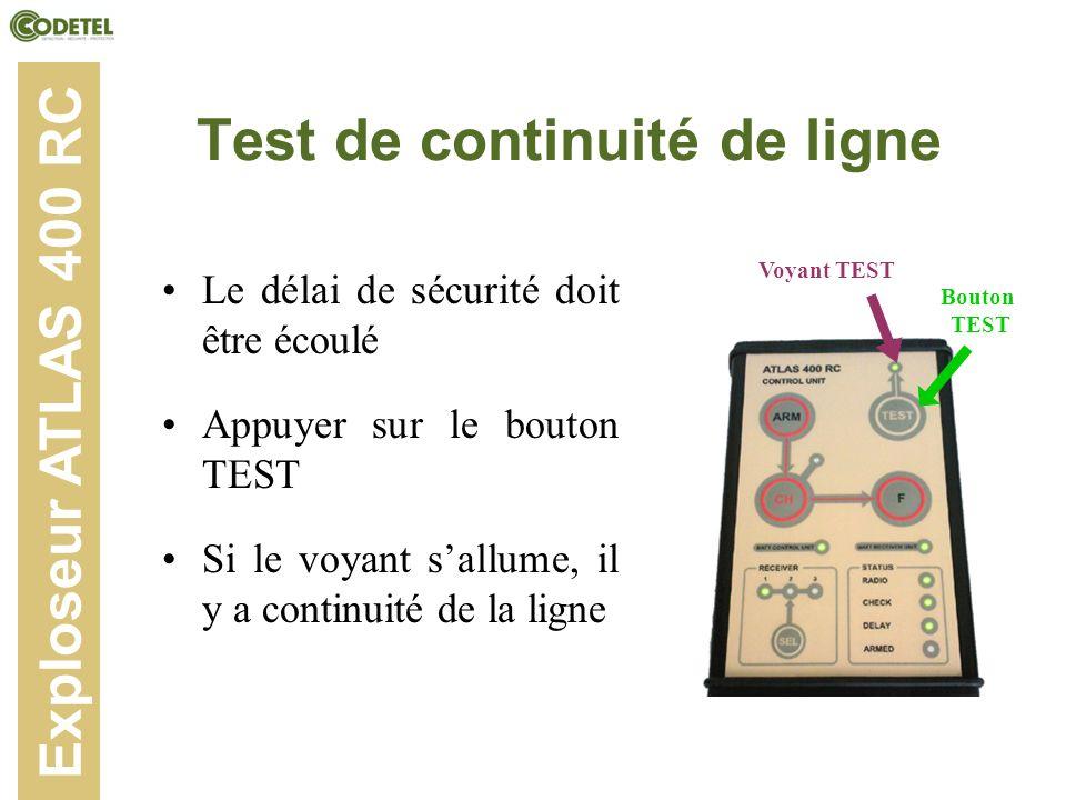Test de continuité de ligne