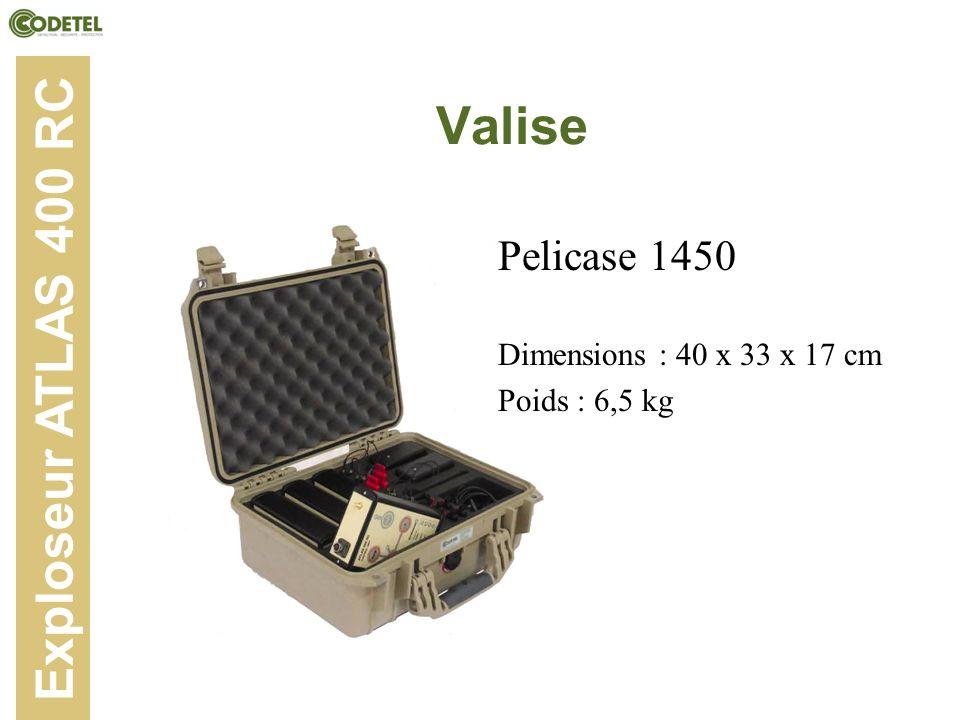 Valise Exploseur ATLAS 400 RC Pelicase 1450
