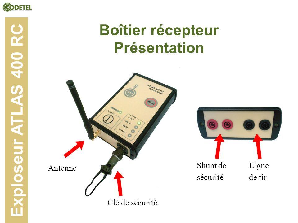 Boîtier récepteur Présentation
