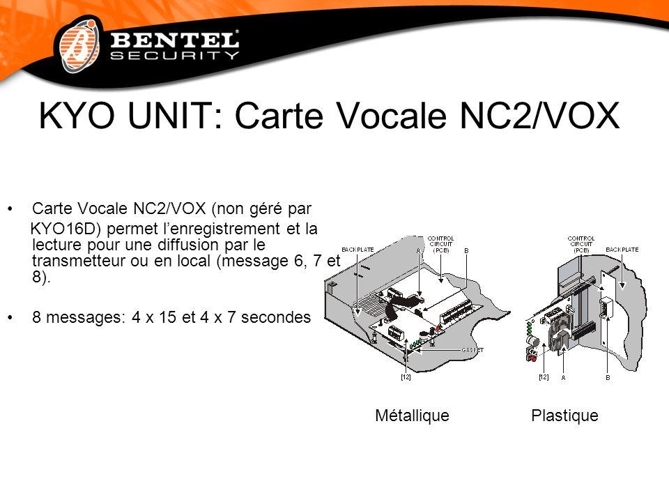 KYO UNIT: Carte Vocale NC2/VOX