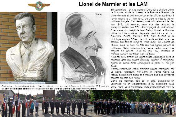 Lionel de Marmier et les LAM